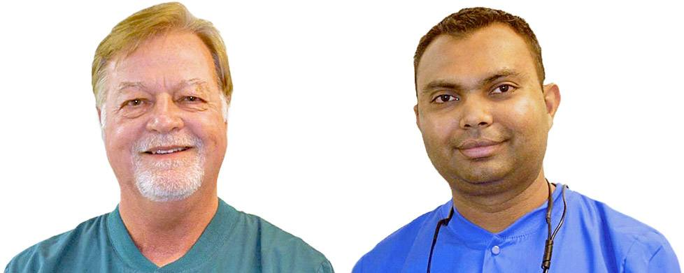 Virginia Beach dentists, Dr. Cruser and Dr. Patel